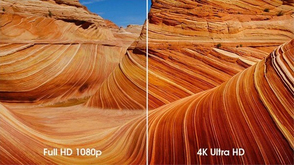4k Resolution camera
