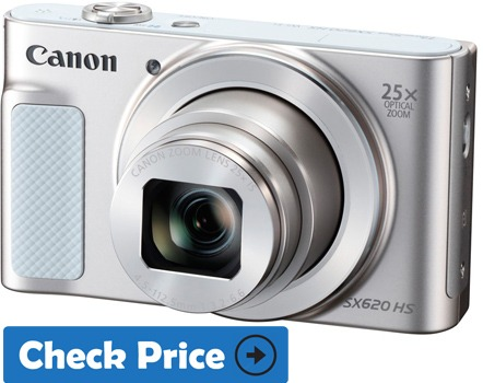 Canon SX620 HS cheap vlogging camera