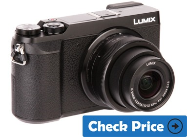 Panasonic Lumix GX85 cheap vlog camera with flip screen