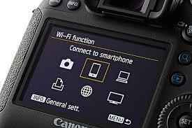 Wi-Fi Connectivity in vlogging camera