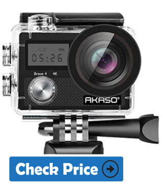 AKASO Brave 4 waterproof camera