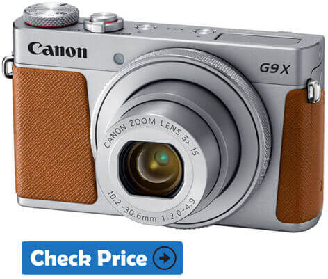 Canon Powershot G9X Mark II Camera For Professional Photography
