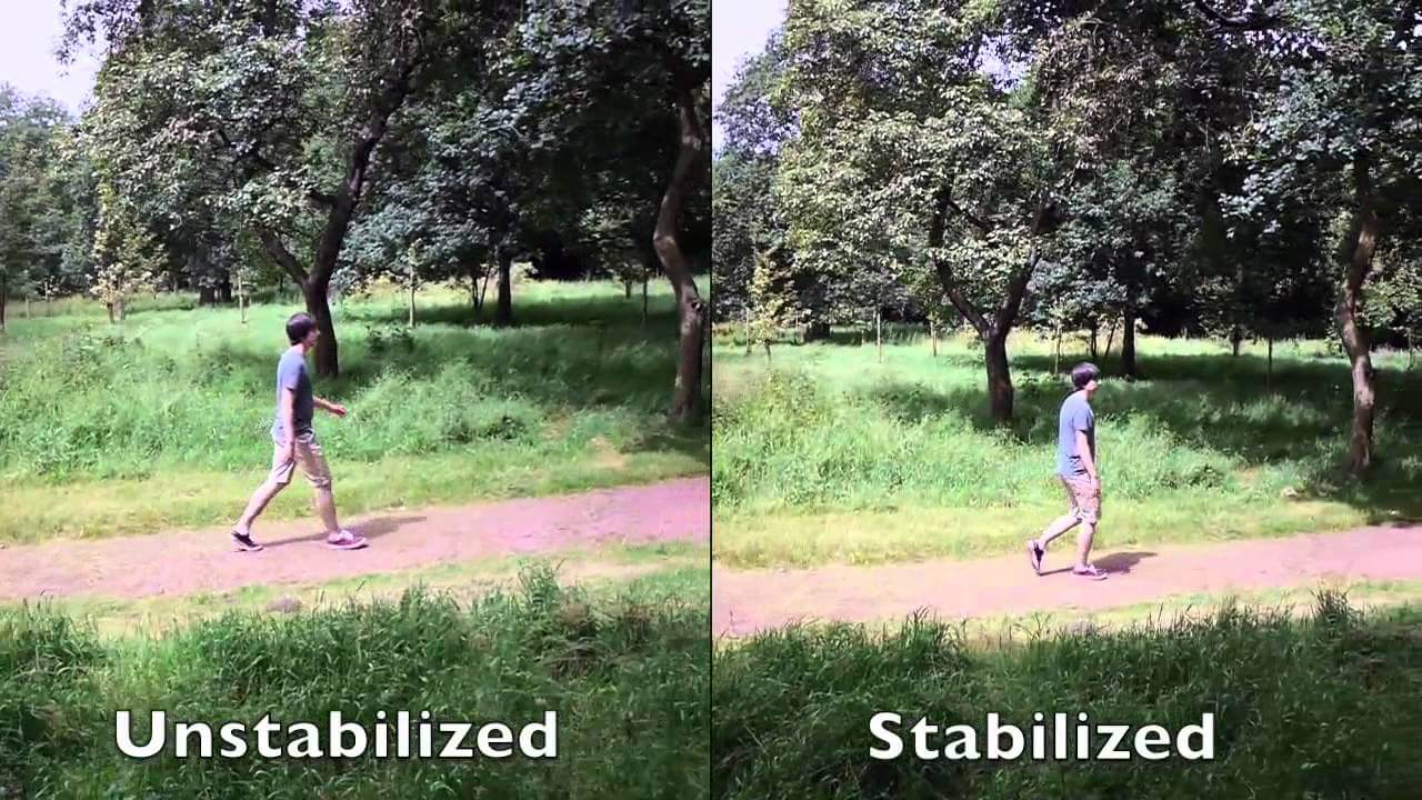 Image Stabilizer in camera