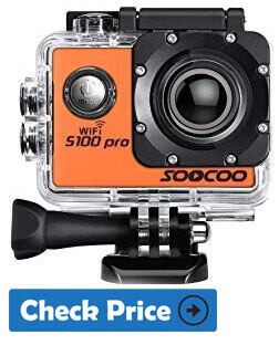 SOOCOO C30R best action camera under $100