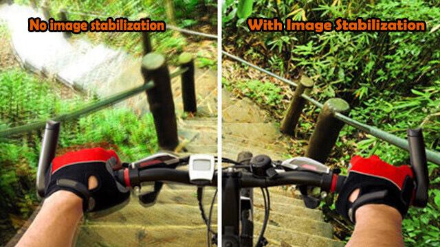 image stabilization vs no image stabilization