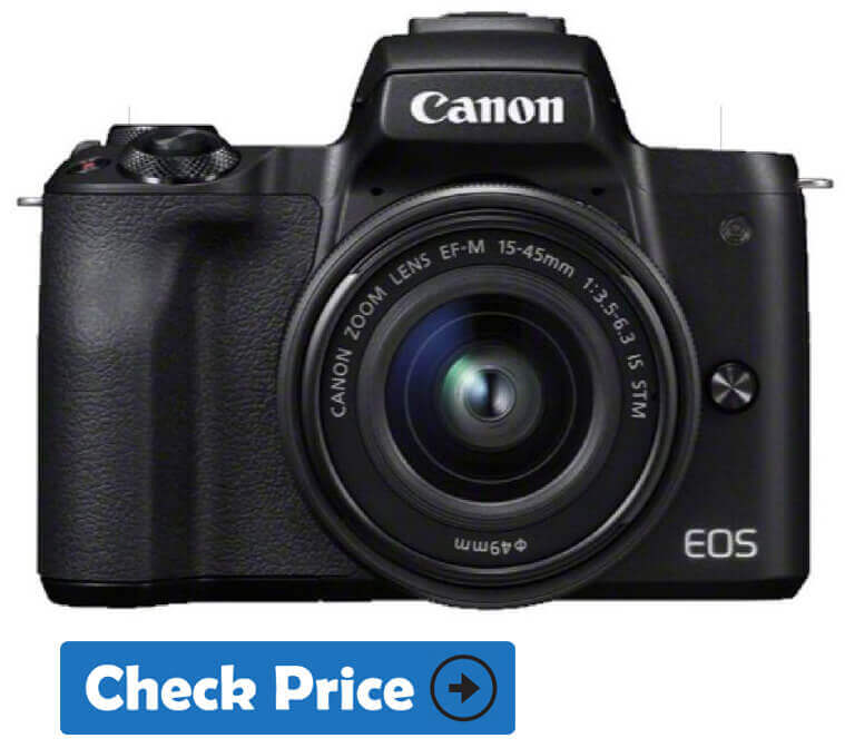 canon eos m50 mirrorless camera under $1000