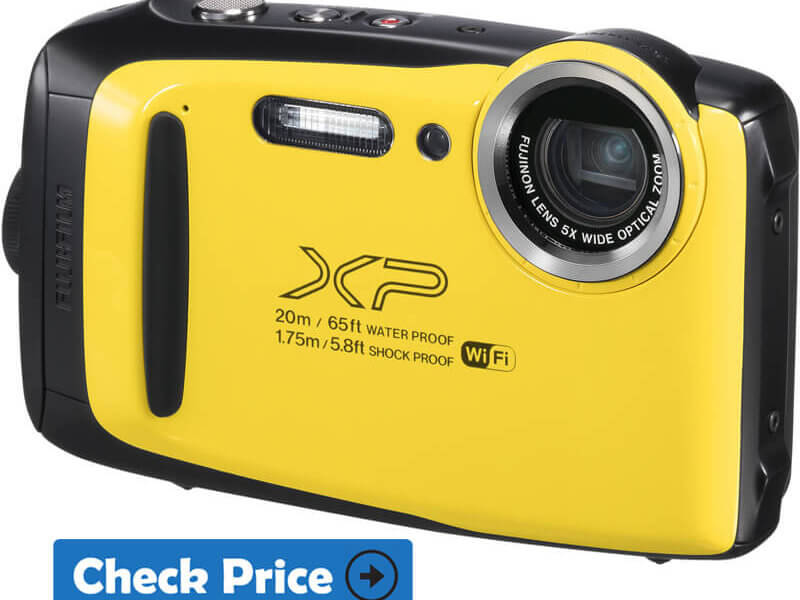 Fujifilm Finepix XP130 underwater camera