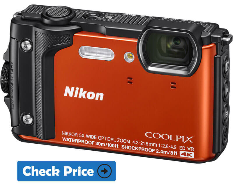 Nikon Coolpix W300 Best Budget Underwater Camera