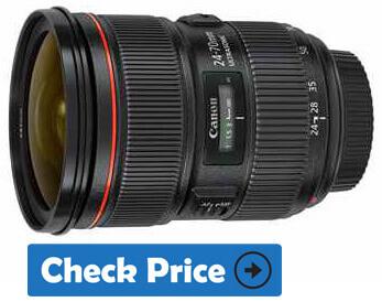 Canon EF 24-70mm f 2.8L II USM Zoom Lens
