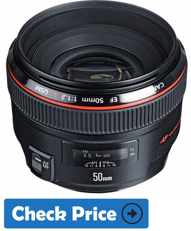 Canon EF 50mm f 2L USM Ultra-Fast Lens