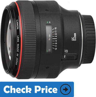 Canon EF 85mm f 1.2L II USM AF