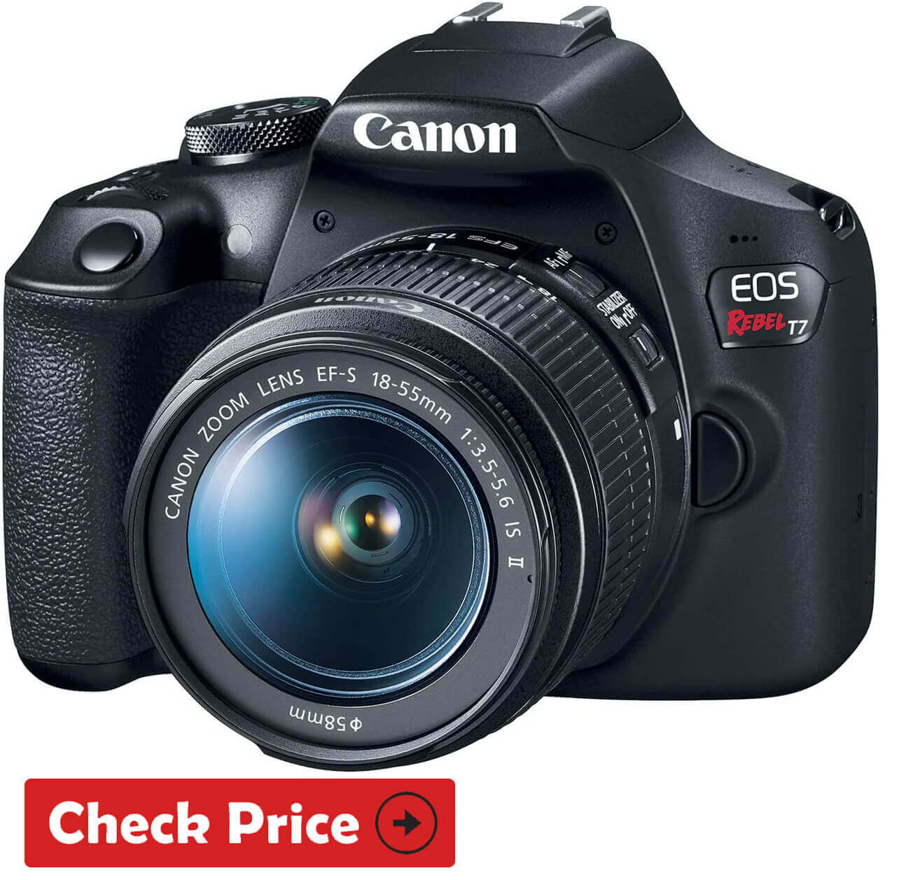 Canon - EOS Rebel T7 camera for black friday