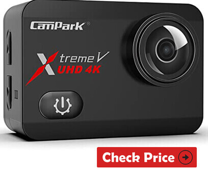 Campark X30 Native 4K 60fps Action Camera